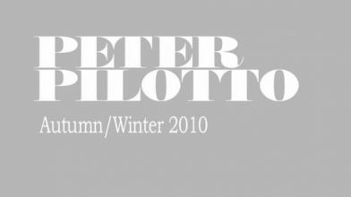 Scott Wilson x PETER PILOTTO A/W10