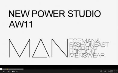 Scott Wilson x NEW POWER STUDIO A/W11