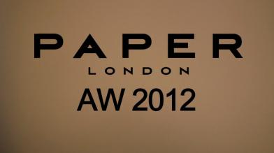Scott Wilson x PAPER LONDON A/W12