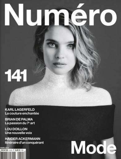PRESS Ondria Hardin shot by Sebastian Kim for Numero Magazine